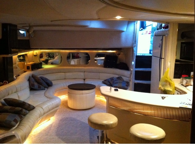 Sunseeker 63 ft interior